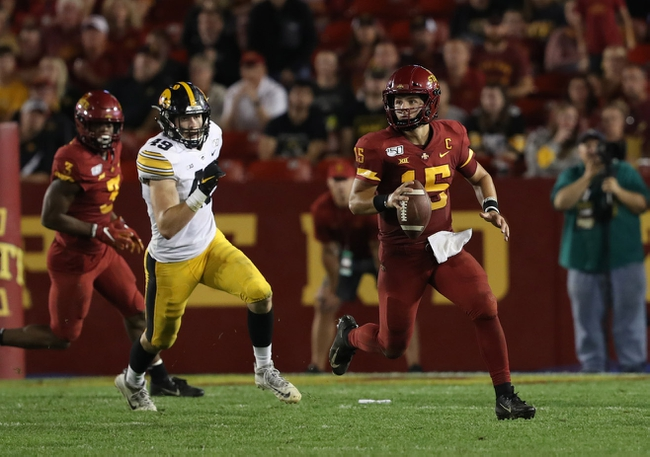 Iowa State vs. Iowa - 9/12/20 Early Look College Football GOY Pick, Odds, and Prediction