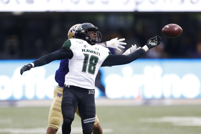 Hawaii vs. Central Arkansas - 9/21/19 College Football Pick, Odds, and Prediction