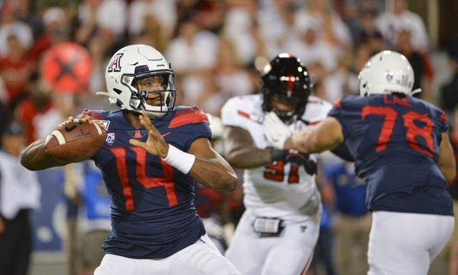 Arizona vs. UCLA - 9/28/19 College Football Pick, Odds, and Prediction