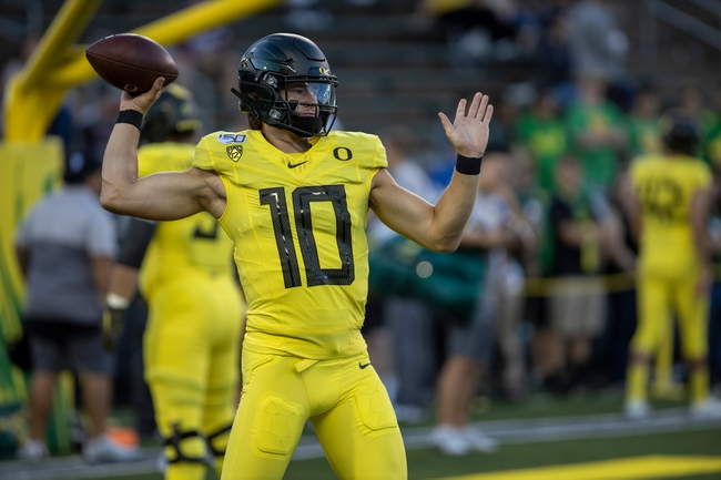 Stanford vs. Oregon - 9/21/19 College Football Pick, Odds, and Prediction