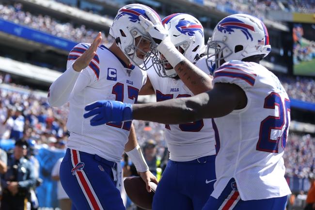 Philadelphia Eagles at Buffalo Bills - 10/27/19 NFL Pick, Odds, and Prediction