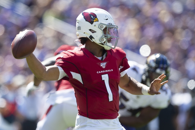Carolina Panthers at Arizona Cardinals - 9/22/19 NFL Pick, Odds, and Prediction