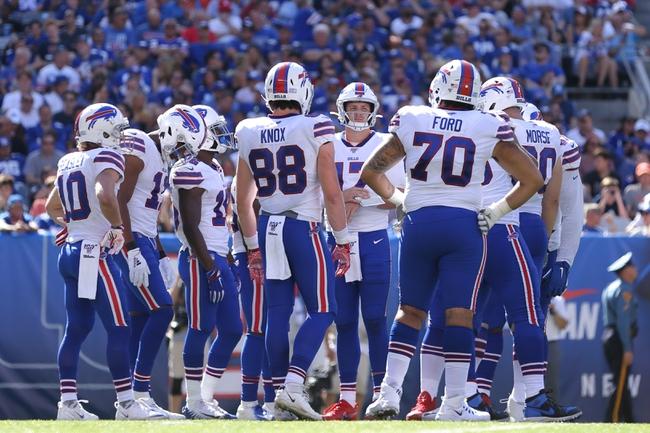 Cincinnati Bengals at Buffalo Bills - 9/22/19 NFL Pick, Odds, and Prediction