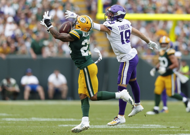 Minnesota Vikings vs. Green Bay Packers - 12/23/19 NFL Pick, Odds, and Prediction
