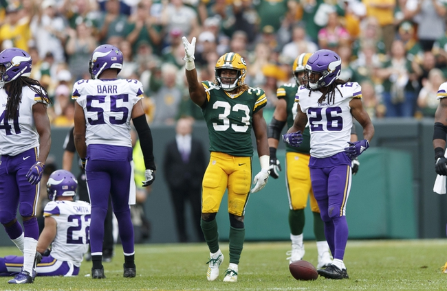 Minnesota Vikings vs. Green Bay Packers-12/22/19, NFL, Odds, Pick, & Prediction