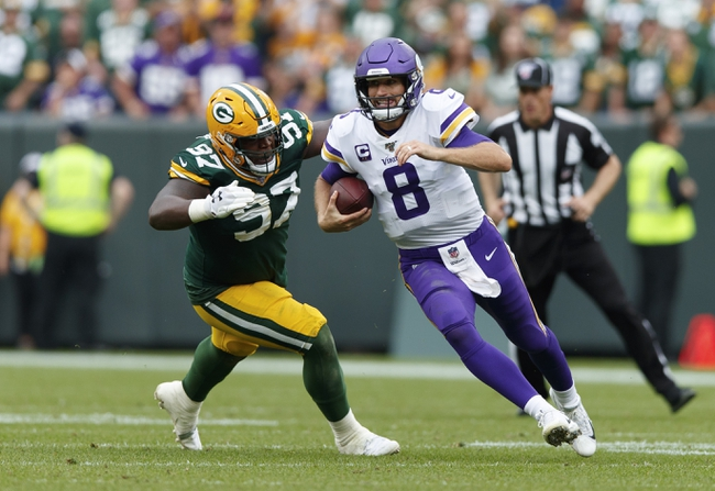 Oakland Raiders at Minnesota Vikings - 9/22/19 NFL Pick, Odds, and Prediction