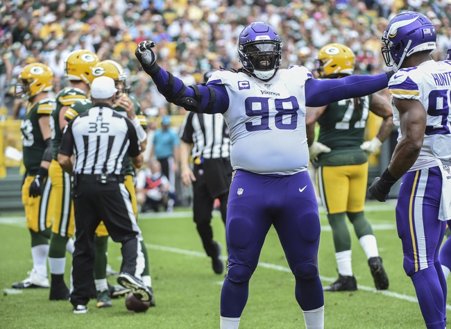 Green Bay Packers at Minnesota Vikings - 12/23/19 NFL Pick, Odds, and Prediction