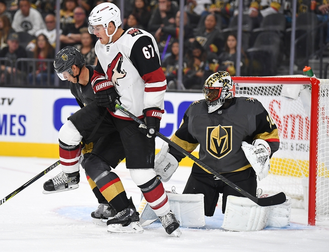 Arizona Coyotes vs. Vegas Golden Knights - 10/10/19 NHL Pick, Odds, and Prediction