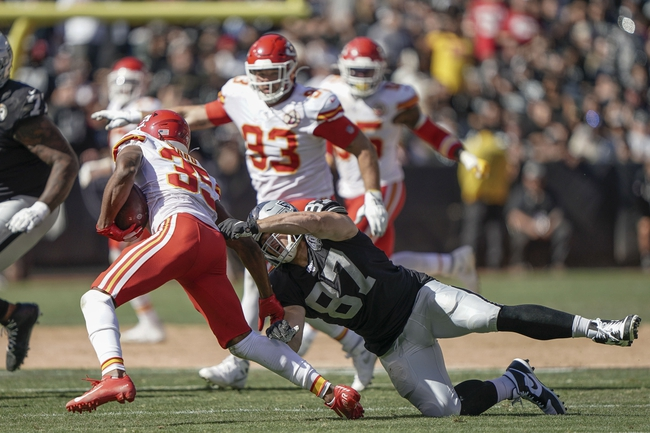 Kansas City Chiefs vs. Oakland Raiders - 12/1/19 NFL Pick, Odds, and Prediction