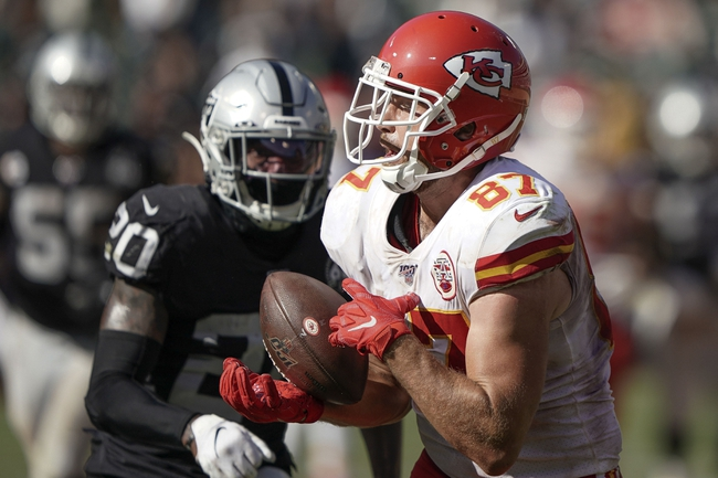 Oakland Raiders at Kansas City Chiefs - 12/1/19 NFL Pick, Odds, and Prediction