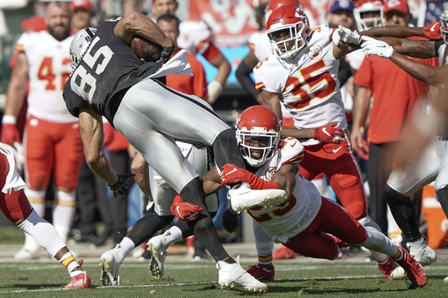 Kansas City Chiefs vs. Oakland Raiders - 11/30/19 NFL Pick, Odds, and Prediction