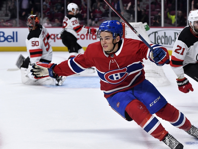 Montreal Canadiens vs. New Jersey Devils - 11/16/19 NHL Pick, Odds, and Prediction