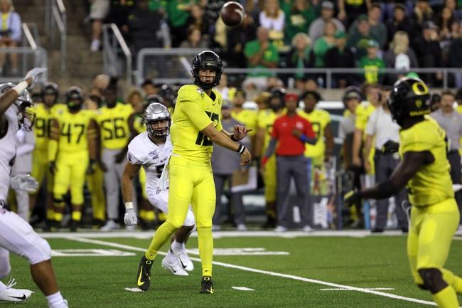 Oregon Ducks 2020 Win Total - College Football Pick, Odds and Prediction