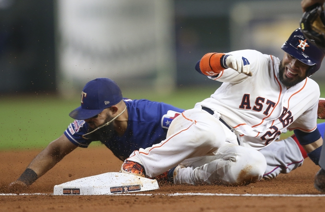 Houston Astros vs. Texas Rangers - 9/18/19 MLB Pick, Odds, and Prediction