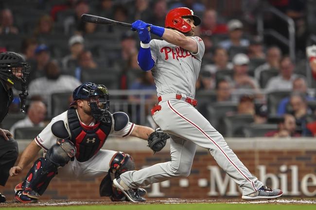 Atlanta Braves vs. Philadelphia Phillies - 9/19/19 MLB Pick, Odds, and Prediction