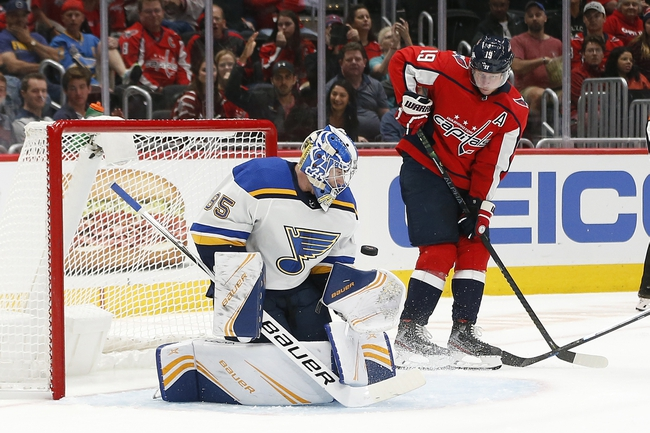 St. Louis Blues vs. Washington Capitals - 10/2/19 NHL Pick, Odds, and Prediction
