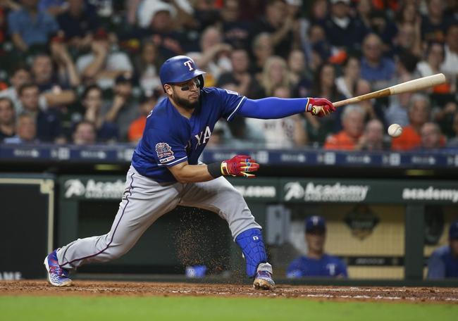 Houston Astros vs. Texas Rangers - 9/1/20 MLB Pick, Odds, and Prediction