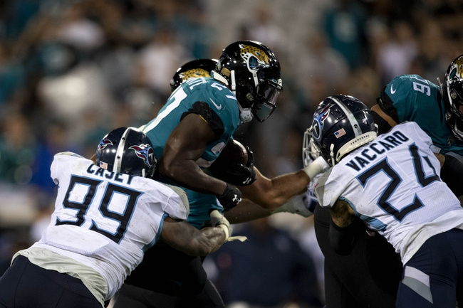 Jacksonville Jaguars at Tennessee Titans - 11/24/19 NFL Pick, Odds, and Prediction