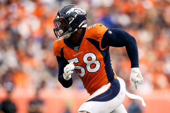 Denver Broncos vs. Jacksonville Jaguars - 9/29/19 NFL Pick, Odds, and Prediction