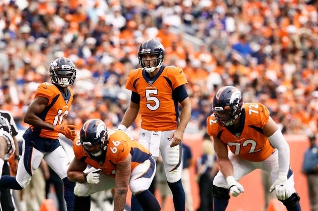 Denver Broncos vs. Tennessee Titans - 10/13/19 NFL Pick, Odds, and Prediction