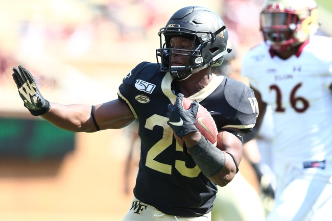 Campbell at Wake Forest: 10/2/20 College Football Picks and Prediction