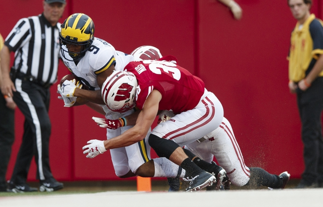Wisconsin vs. Michigan - 9/26/20 Early Look College Football GOY Pick, Odds, and Prediction