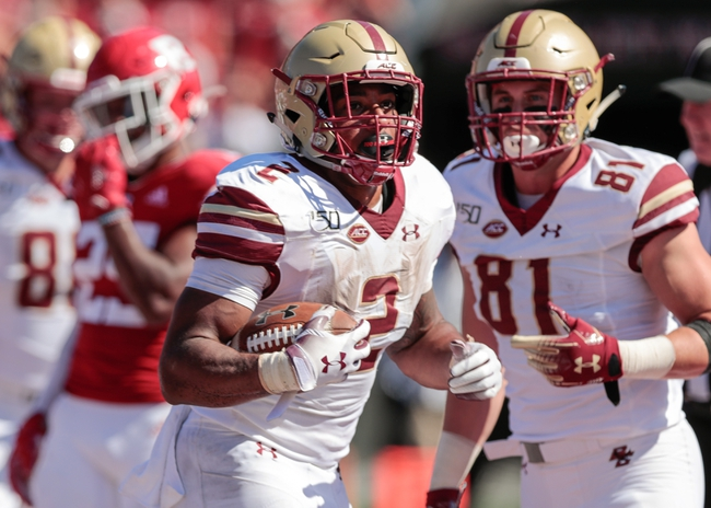 Boston College 2020 Win Total - College Football Pick and Prediction