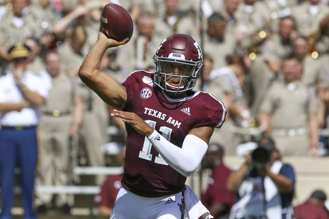 Texas A&M vs. Arkansas - 9/28/19 College Football Pick, Odds, and Prediction