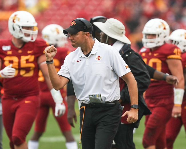 Iowa State vs. TCU - 10/5/19 College Football Pick, Odds, and Prediction