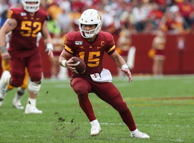 Baylor vs. Iowa State - 9/28/19 College Football Pick, Odds, and Prediction