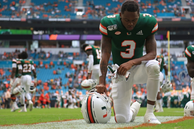 Postponed: Miami vs Georgia Tech College Football Picks, Odds, Predictions 11/21/20
