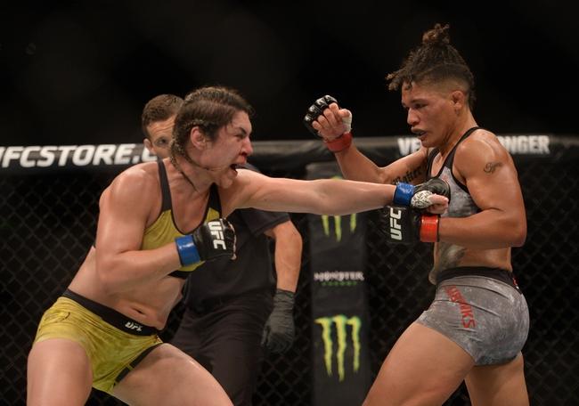 Pannie Kianzad vs. Bethe Correia - 7/25/20 UFC on ESPN 14 Pick, Odds, and Prediction