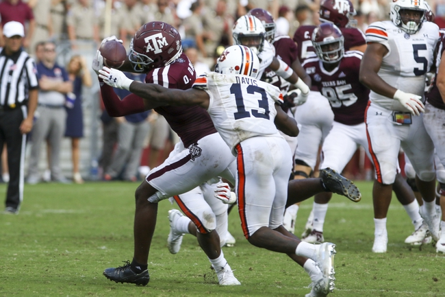 Texas A&M at Auburn - 10/17/20 Early look College Football GOY Picks and Predictions