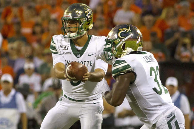 UTEP at Charlotte - 10/24/20 College Football Picks and Prediction