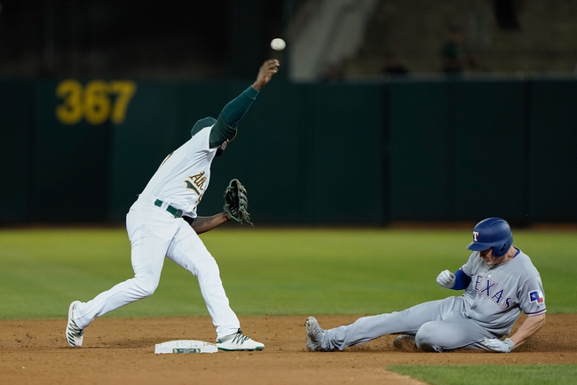 Oakland Athletics vs. Texas Rangers - 9/22/19 MLB Pick, Odds, and Prediction
