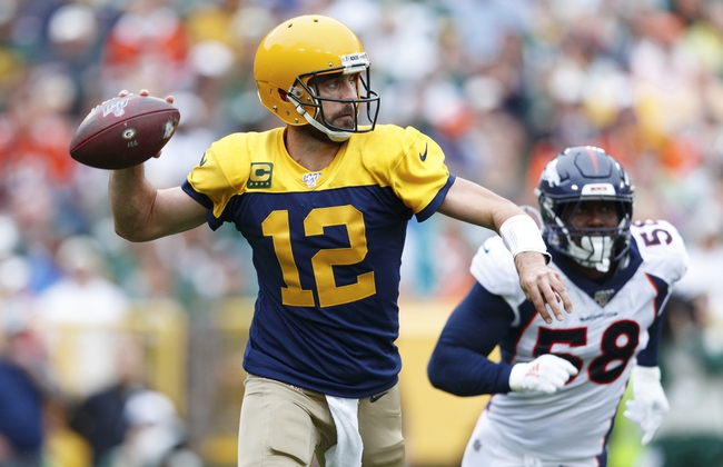 Philadelphia Eagles at Green Bay Packers - 9/26/19 NFL Pick, Odds, and Prediction