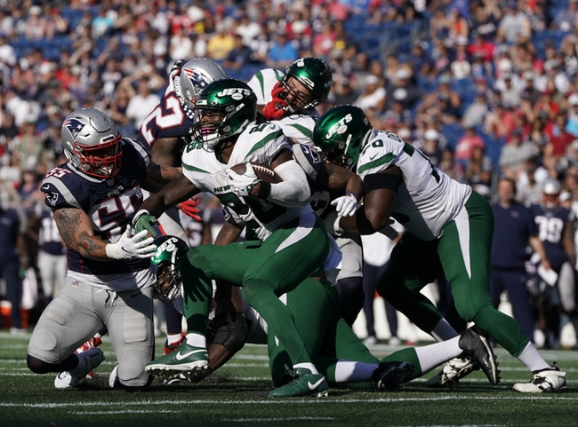 New York Jets vs. New England Patriots - 10/21/19 NFL Pick, Odds, and Prediction