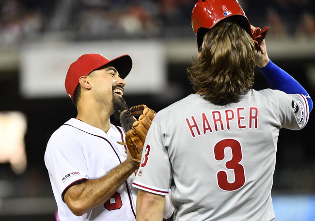 Washington Nationals vs. Philadelphia Phillies - 9/24/19 MLB Game 2 Pick, Odds, and Prediction