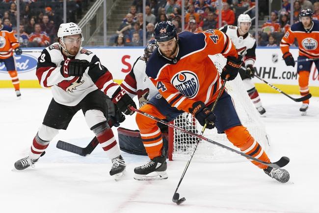 Edmonton Oilers vs. Arizona Coyotes - 11/4/19 NHL Pick, Odds, and Prediction