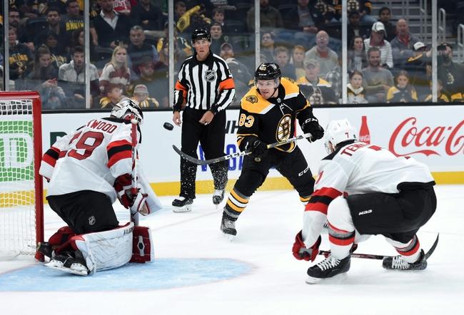 Boston Bruins vs. New Jersey Devils - 10/12/19 NHL Pick, Odds, and Prediction