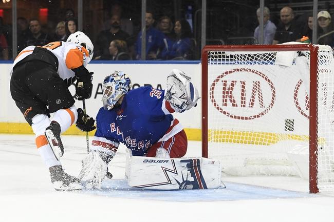 Philadelphia Flyers vs. New York Rangers - 12/23/19 NHL Pick, Odds, and Prediction