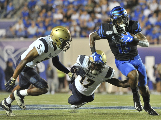 Postponed: Memphis at Navy 11/14/20 College Football Picks and Predictions