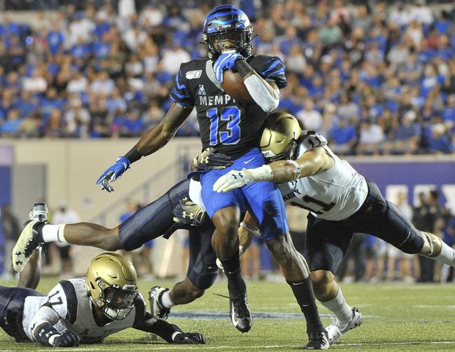 Postponed; Navy vs Memphis College Football Picks, Odds, Predictions 11/14/20