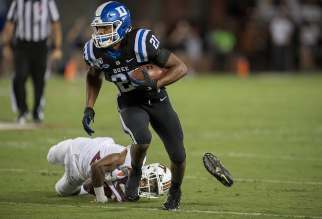 Duke vs. Pittsburgh - 10/5/19 College Football Pick, Odds, and Prediction