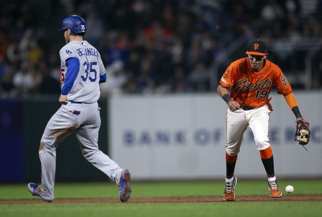 San Francisco Giants vs. Los Angeles Dodgers - 9/28/19 MLB Pick, Odds, and Prediction