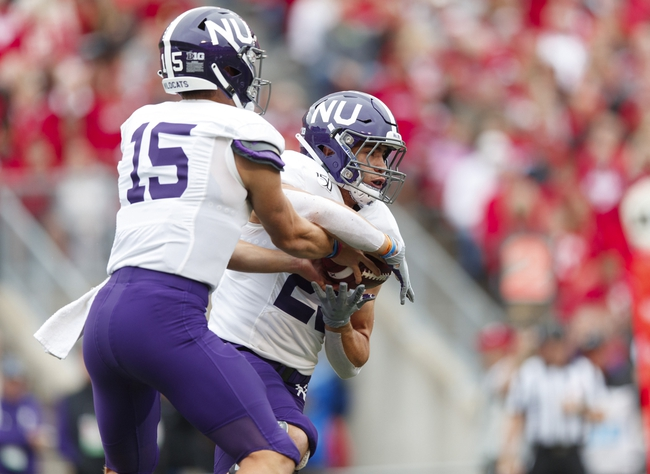 Northwestern vs. Ohio State - 10/18/19 College Football Pick, Odds, and Prediction