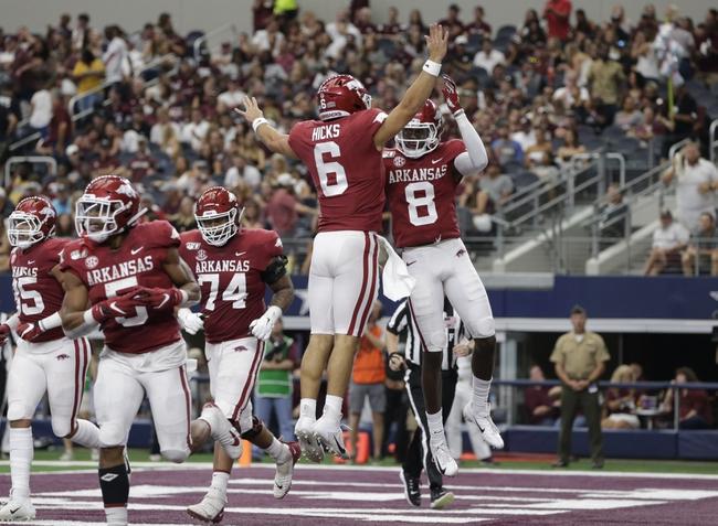 Kentucky vs. Arkansas - 10/12/19 College Football Pick, Odds, and Prediction