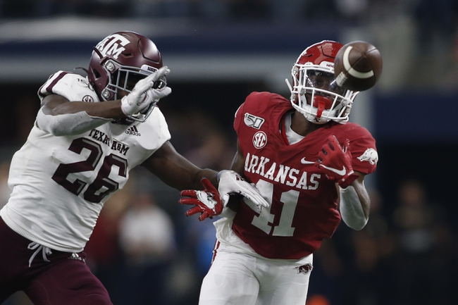 Arkansas vs. Texas A&M - 9/26/20 Early look College Football GOY Picks and Predictions