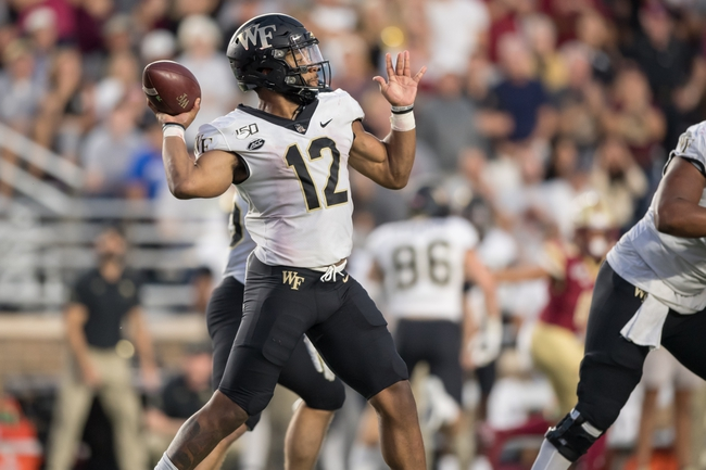 Wake Forest vs. Louisville - 10/12/19 College Football Pick, Odds, and Prediction