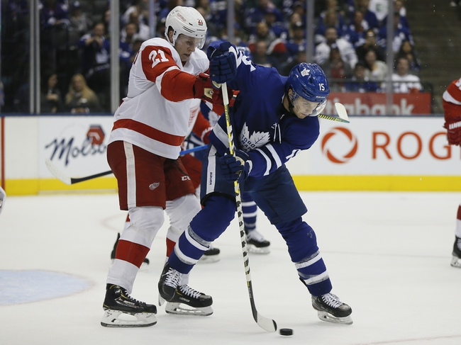 Detroit Red Wings vs. Toronto Maple Leafs - 10/12/19 NHL Pick, Odds, and Prediction